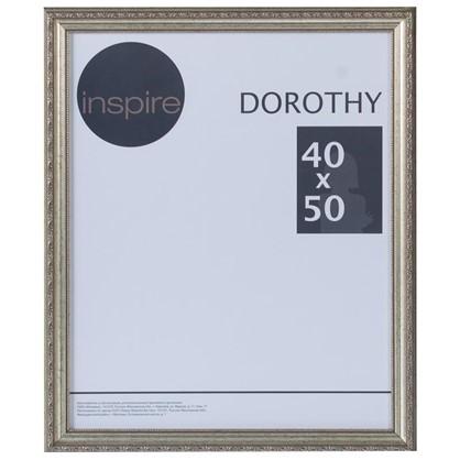 Рамка Inspire Dorothy цвет серебряный размер 40х50