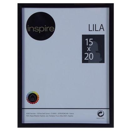 Рамка Inspire Lila 15х20 см цвет черный