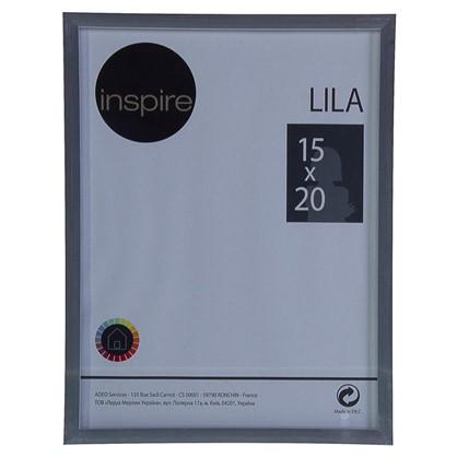 Рамка Inspire Lila 15х20 см цвет серебро