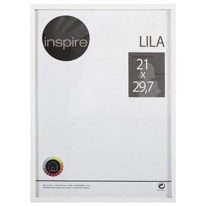 Рамка Inspire Lila 21х297 см цвет белый