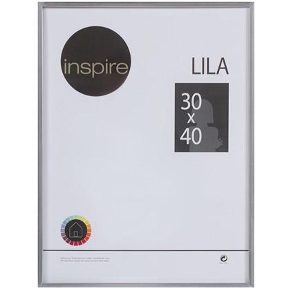 Рамка Inspire Lila 30х40 см цвет серебро