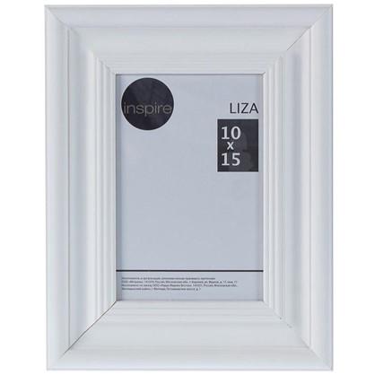 Купить Рамка Inspire Liza 10x15 см цвет белый дешевле