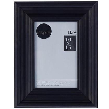 Купить Рамка Inspire Liza 10x15 см цвет черный дешевле