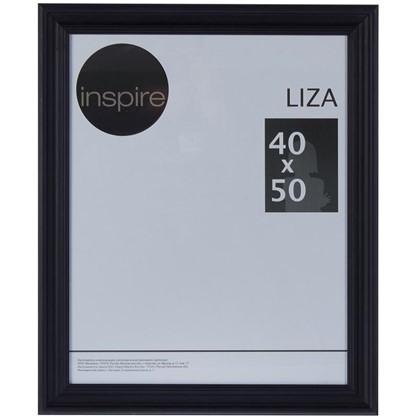Рамка Inspire Liza 40х50 см цвет черный