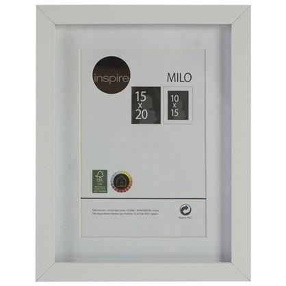 Купить Рамка Inspire Milo 15х20 см цвет белый дешевле
