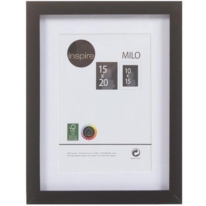 Купить Рамка Inspire Milo 15х20 см цвет черный дешевле