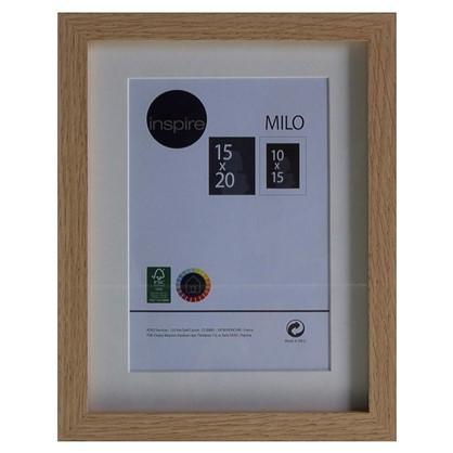 Рамка Inspire Milo 15х20 см цвет дуб