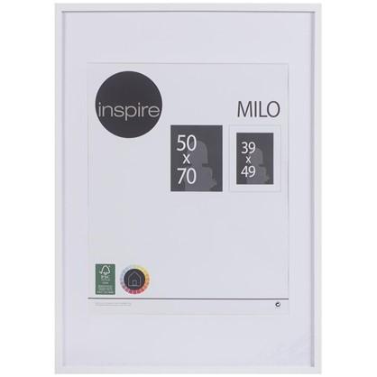 Рамка Inspire Milo 50х70 см цвет белый