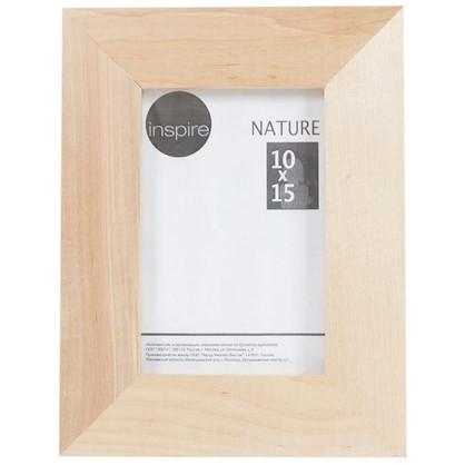 Рамка Inspire Nature 10х15 см цвет дерево