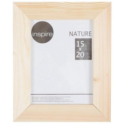Купить Рамка Inspire Nature 15х20 см цвет дерево дешевле