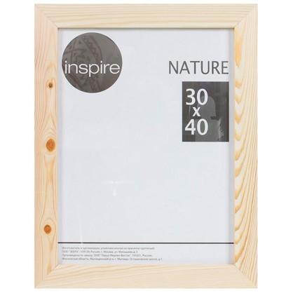Рамка Inspire Nature 30х40 см цвет дерево
