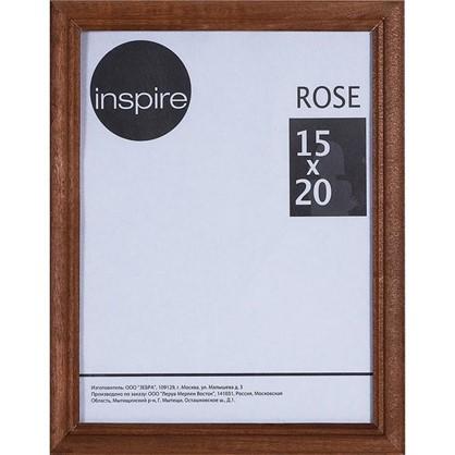 Купить Рамка Inspire Rose 15х20 см дерево цвет коричневый дешевле