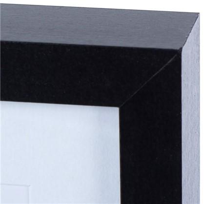Рамка на 3 фотографии 10x15 цвет черный
