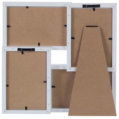 Рамка на 4 фотографии 10x15 цвет белый