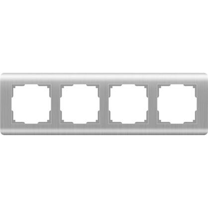 Рамка Stream 4 поста цвет серебряный