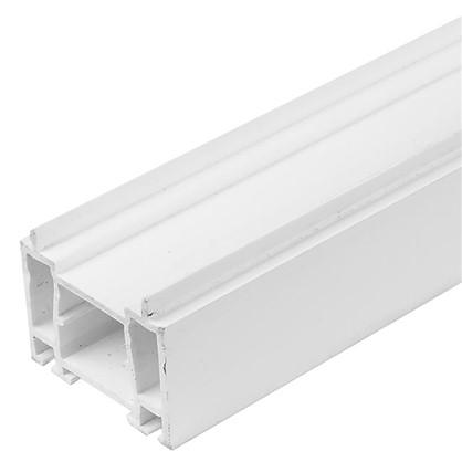 Купить Расширитель ПВХ 60x25x1500 мм цвет белый дешевле