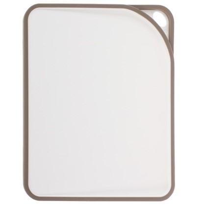 Разделочная доска 340x280x18 мм цвет графит