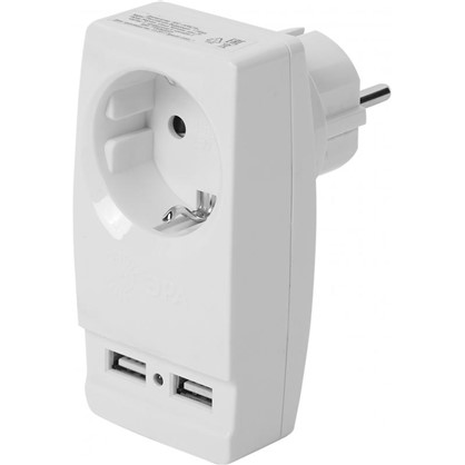 Разветвитель SP-1e USB цвет белый цена