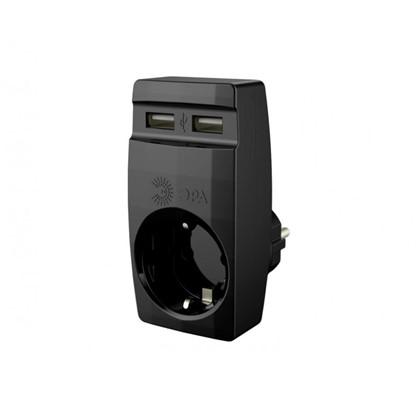 Купить Разветвитель SP-1e USB цвет чёрный дешевле