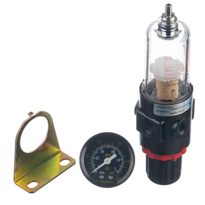 Регулятор давления с фильтром 1/4 дюйма