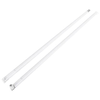 Рейлинг продольный Boyard MB00081 450 мм металл/пластик цвет белый