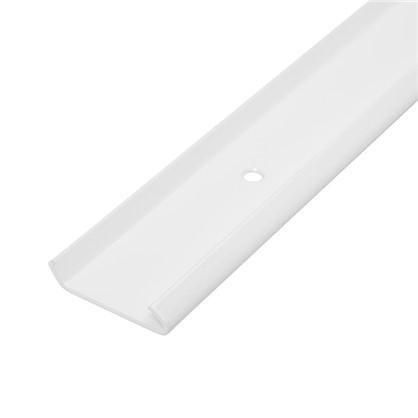 Рельс несущий L=600 НСХ 50x600x9 мм цвет белый