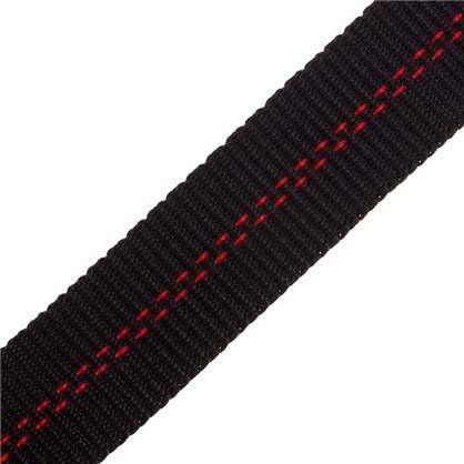 Ремен-карабин 25 мм 5 м полипропилен цвет черный