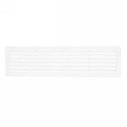 Купить Решетка дверная вентиляционная Вентс МВ 450 462x124 мм цвет белый дешевле