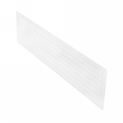 Купить Решетка дверная вентиляционная Вентс МВ 450/2 124x462 мм цвет белый дешевле