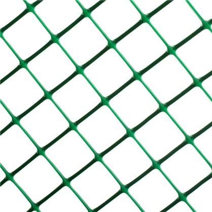 Купить Решетка садовая размер ячейки 24х24 мм высота 50 см цвет хаки-зеленый дешевле