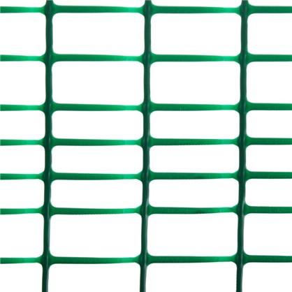 Решетка садовая размер ячейки 45х45 мм высота 100 см цвет хаки-зеленый