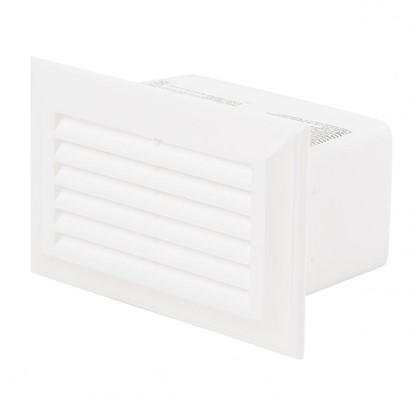 Решетка вентеляционная Вентс 571 55х110 мм цвет белый