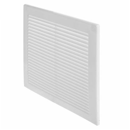 Решетка вентиляционная Awenta TRU8 250х250 мм цвет белый