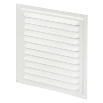 Решетка вентиляционная с сеткой Вентс МВМ 200 с 200х200 мм цвет белый