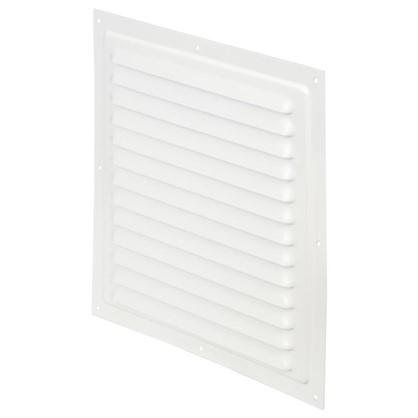 Решетка вентиляционная с сеткой Вентс МВМ 250 с 250х250 мм цвет белый