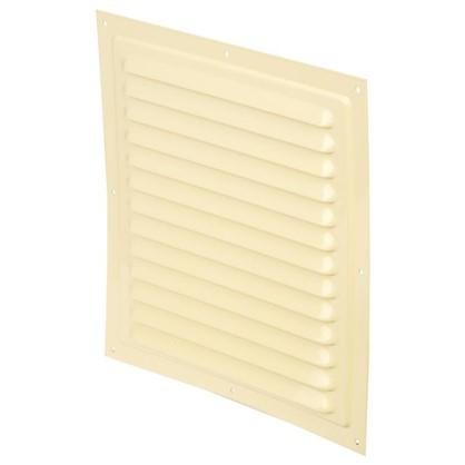 Купить Решетка вентиляционная с сеткой Вентс МВМ 250 с 250х250 мм цвет бежевый дешевле