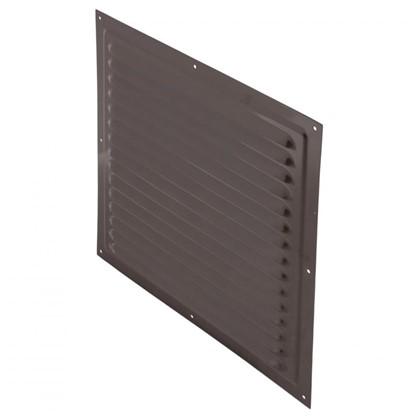 Купить Решетка вентиляционная с сеткой Вентс МВМ 300 с 300х300 мм цвет коричневый дешевле