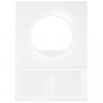 Решетка вентиляционная Вентс МВ 100 Кс 182x252 мм цвет белый