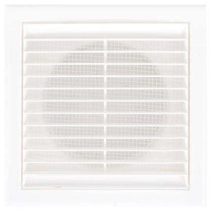 Решетка вентиляционная Вентс МВ 101 Вс 154x154 мм цвет белый