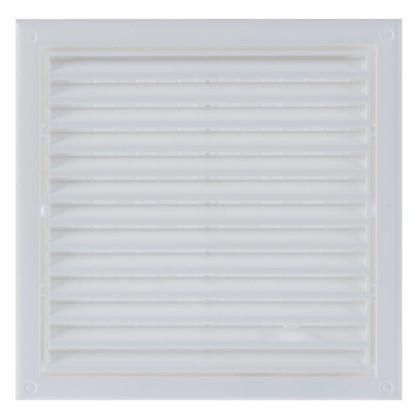 Решетка вентиляционная Вентс МВ 120 Рс 186x186 мм цвет белый