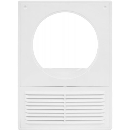 Купить Решетка вентиляционная Вентс МВ 125 Кс 182x251 мм цвет белый дешевле
