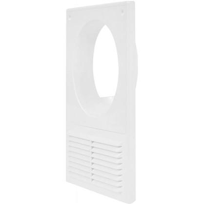 Решетка вентиляционная Вентс МВ 125 Кс 182x251 мм цвет белый