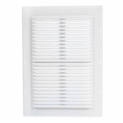 Купить Решетка вентиляционная Вентс МВ 125 с 182x251 мм цвет белый дешевле