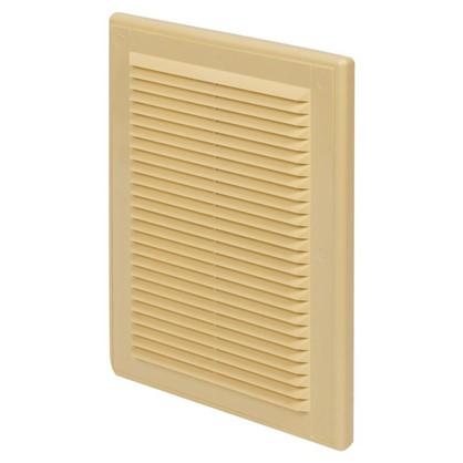 Купить Решетка вентиляционная Вентс МВ 125 с 182x251 мм цвет бежевый дешевле