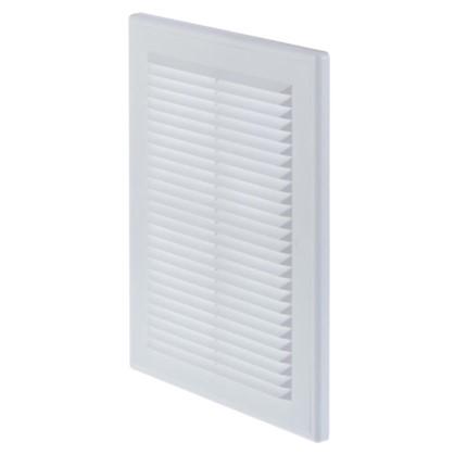 Купить Решетка вентиляционная Вентс МВ 125 ВДс 182x251 мм цвет белый дешевле