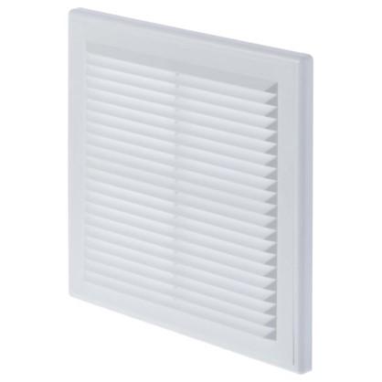 Решетка вентиляционная Вентс МВ 150 с 204x204 мм цвет белый
