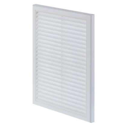 Решетка вентиляционная Вентс МВ 160 ВДс 221x299 мм цвет белый