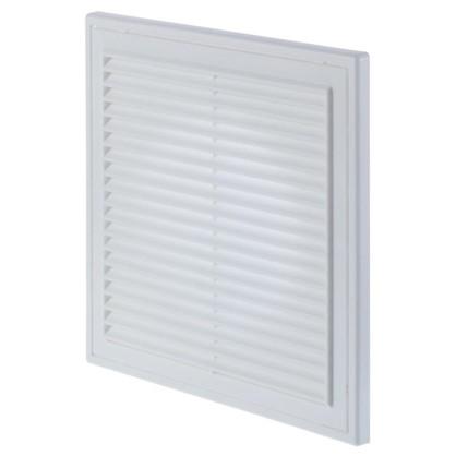 Решетка вентиляционная Вентс МВ 250/150 Вс 250x250 мм цвет белый