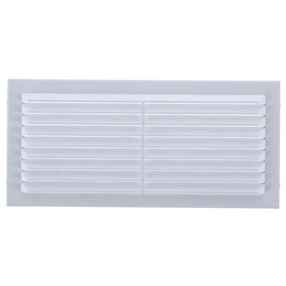 Решетка вентиляционная Вентс МВ 80-1с 170х80 мм цвет белый