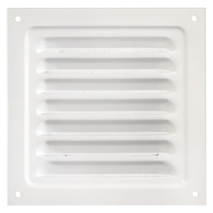 Купить Решетка вентиляционная Вентс МВМ 125 с 125х125 мм цвет белый дешевле